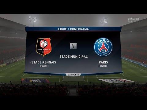 Rennes vs Paris SG | Coupe de France | 07 January 2018 | FIFA 2018