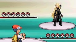 5th Elite Four Battle vs Champion Cynthia [Pokemon Diamond]