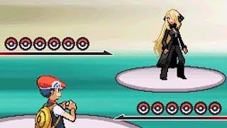 5th Elite Four Battle vs Champion Cynthia [Pokemon Diamond]
