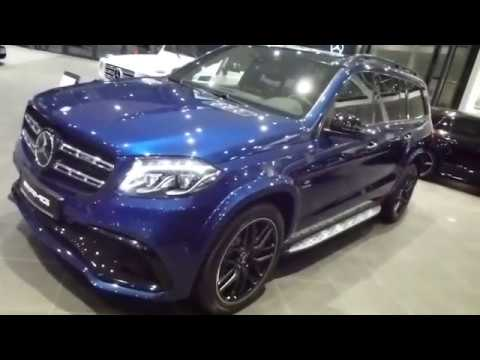 2018 Mercedes Gls 63 Amg Exterior Interior 5 5 V8 585 Hp