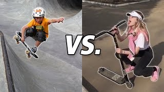 Skateboard Kids vs Scooter Kids #2