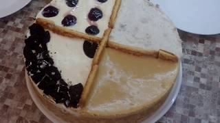 4 десерта за 15 минут /   Cake without baking / 15 dakika içinde pasta