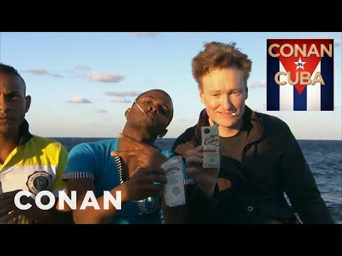 Conan Visits Havana's El Malecón  - CONAN on TBS