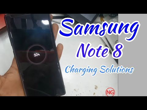 Samsung Note 8 Charging Port Replacement.