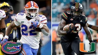 Florida Gators vs. Miami Hurricanes: By The Numbers