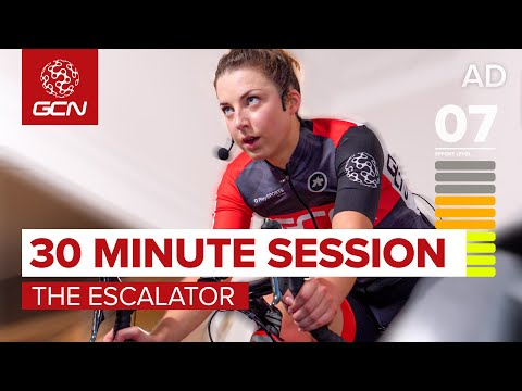Indoor Cycling Workout | Sufferfest 30 Minute Ramp Session 'The Escalator'
