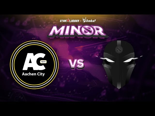 Aachen vs The Final Tribe Game 1 - SL ImbaTV Minor EU Qualifier: Losers' Round 1