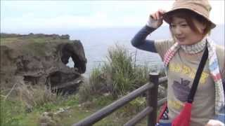 The trip to Okinawa #01 Cape Manza 万座毛