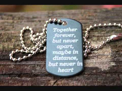 Wait For Me - for deployment, couples