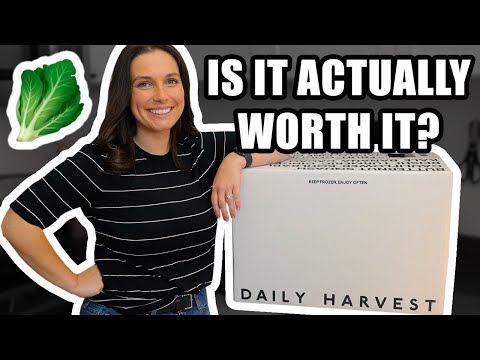 Daily Harvest Review — Taste Testing EVERYTHING 😮 Is It Actually Worth It?