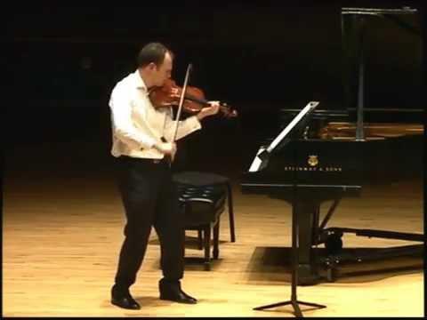 Sonata No. 3 ' Ballade' -  Eugène Ysaÿe performed by Jasper Wood