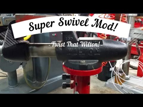 Bench Vise Super Swivel Mod!