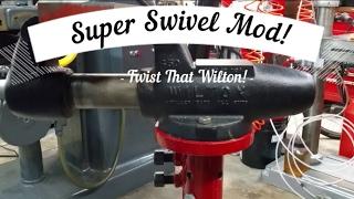 Wilton Bench Vise Super Swivel Mod!
