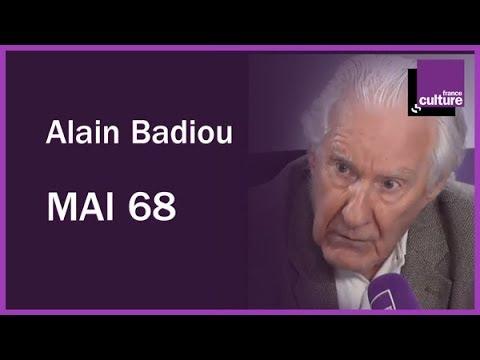 Alain Badiou et mai 68