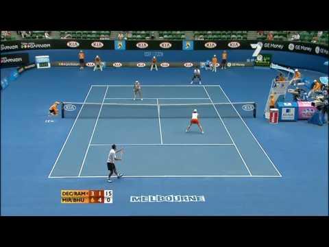 Mixed Double Tennis Final AO 2009 p5