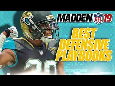 Madden 19 BEST Defensive Playbooks & Plays
