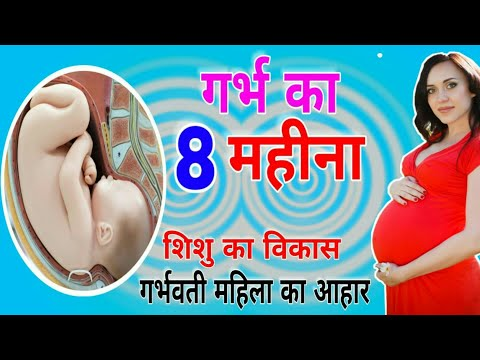 8 month baby in womb | 8 month pregnant baby development | 34 weeks pregnant