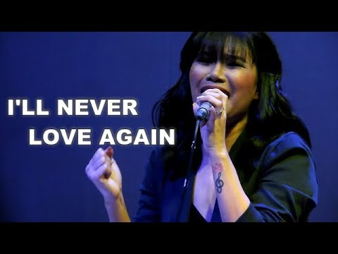 Katrina Velarde - I'll Never Love Again /The Music Hall Nov 28, 2018
