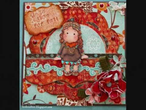 Weekend Card Making with Magnolia, Sarah Kay and Bombshell Stamps