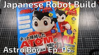 This is the fifth installment in a series where I build an Astro Boy / Atom robot from parts delivered as part of a magazine subscription. Follow along as I put this ...