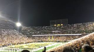 Pat Green performs Wave on Wave in Kinnick Stadium