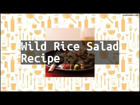 Recipe Wild Rice Salad Recipe