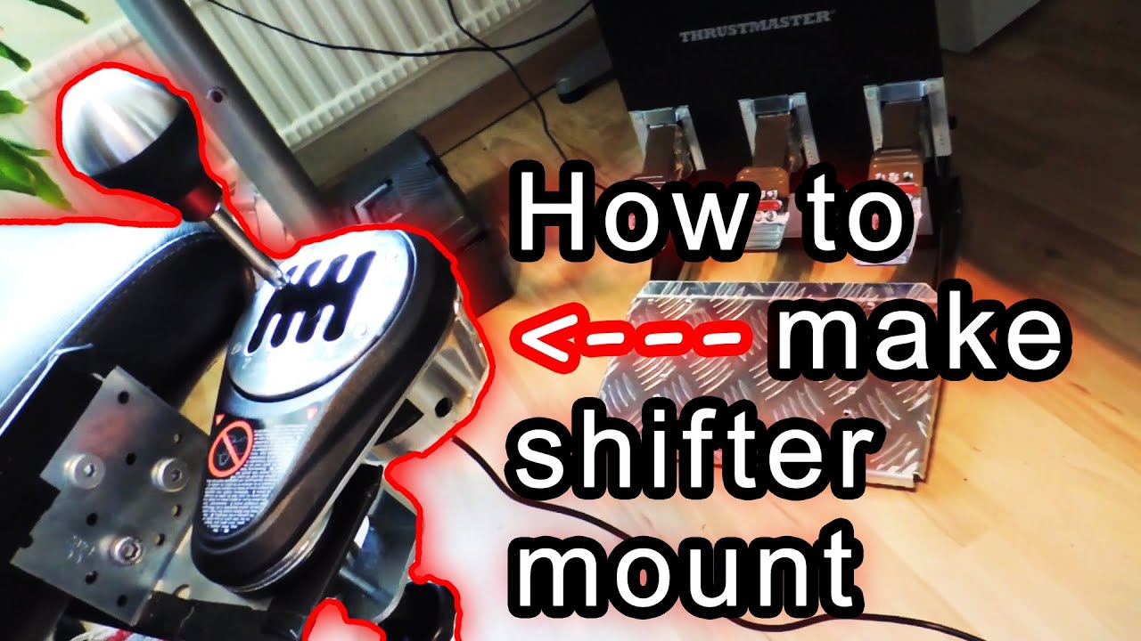 How To Make Homemade Gear Shifter Chair Mount For G27