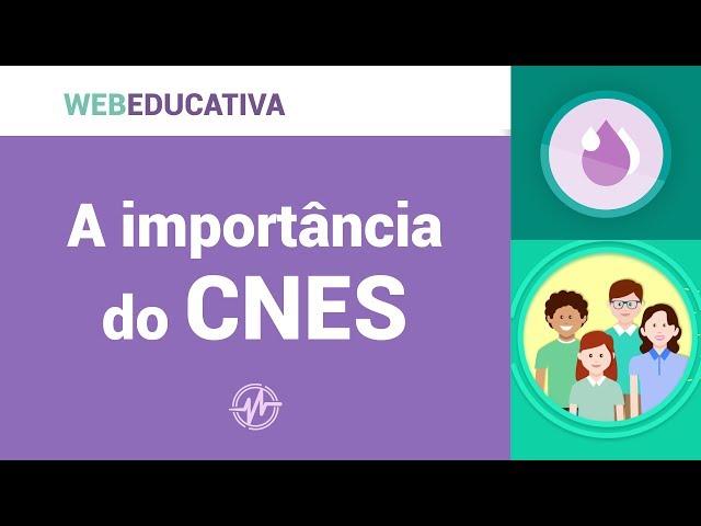 WebEducativa - A importância do CNES