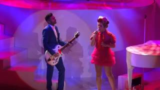 "Paloma Faith - Performing Roy Orbison's "" Crying "" - York Barbican 1st November 2014"