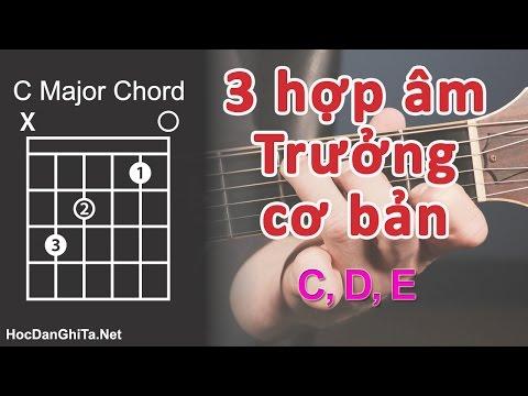 Bài 7: Cách Bấm 3 Hợp âm TRƯỞNG đơn Giản Nhất | Cơ Bản Cho Người Mới Học đàn Guitar