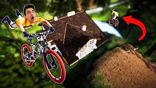 I JUMPED OVER A HOUSE?! (Descenders)