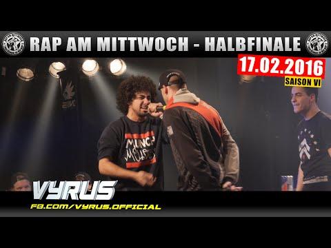 RAP AM MITTWOCH HAMBURG: 17.02.16 BattleMania Halbfinale feat. VYRUS, TISOS uvm. (3/4) GERMAN BATTLE
