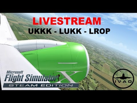 FSX | FLIGHT IN EUROPE | S7 AIRLINES | UKKK-LUKK-LROP | B738 | IVAO | FLIGHT FLOG #46