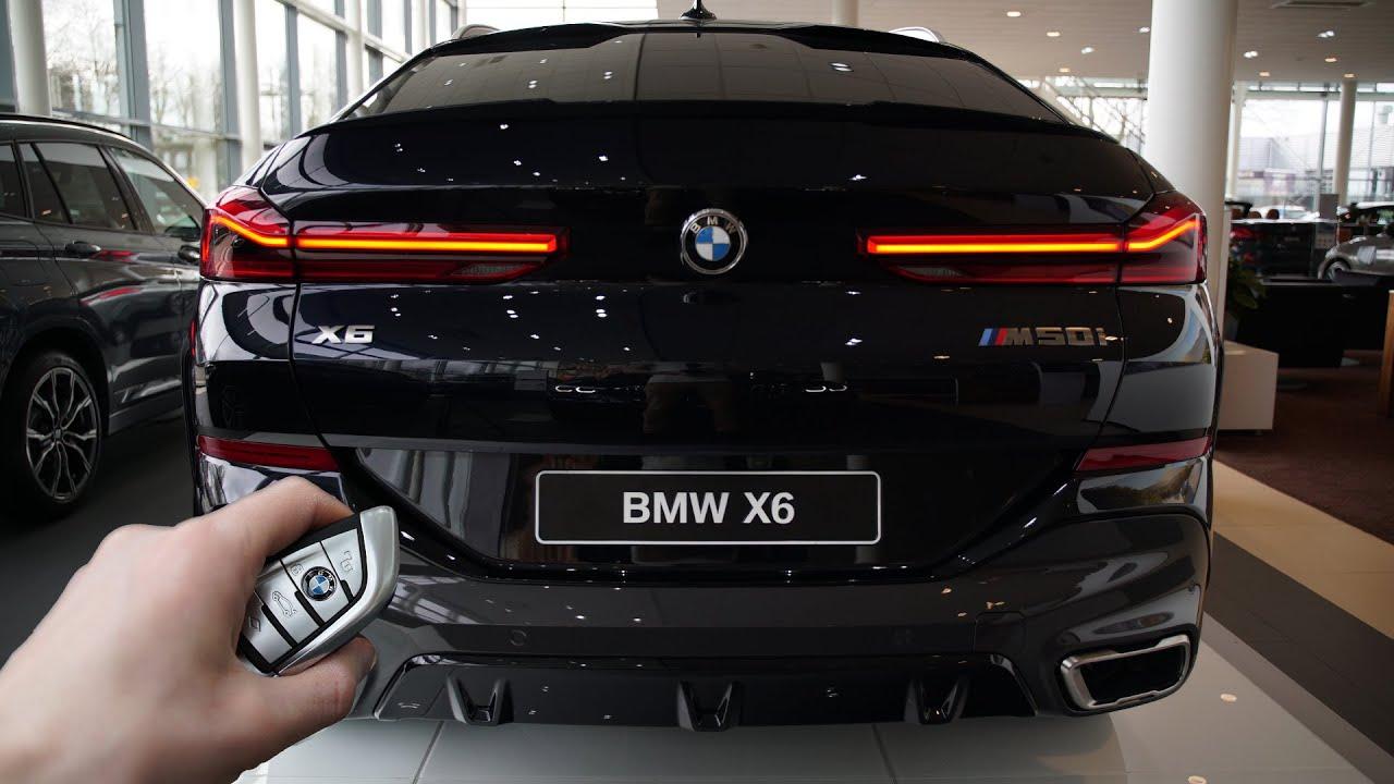 Видео ревю на BMW X6 M50i (530hp) 2020 година! Ето как изглежда и как звучи то!