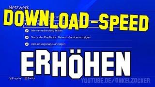 PS4 DOWNLOAD beschleunigen🚀 - SO GEHTS...