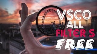 VSCO X Free Download All Filters And How I edit photos for instagram - VSCO for beginners