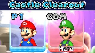 Mario Party 9 Castle Clearout ◆ Mario vs Luigi (Hard Difficulty) #15
