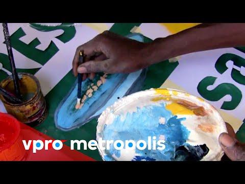 Painted advertisements in Burkina Faso - vpro Metropolis