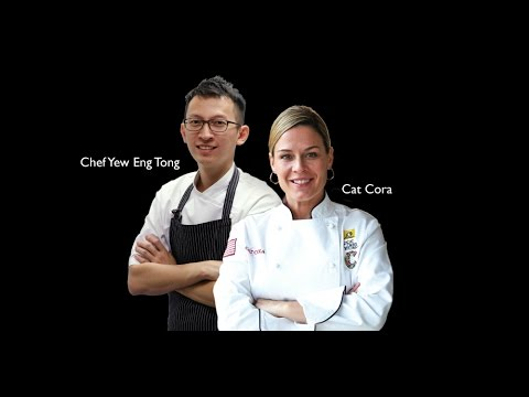 Celebrity Chef Cat Cora Introduces New Menu At Ocean