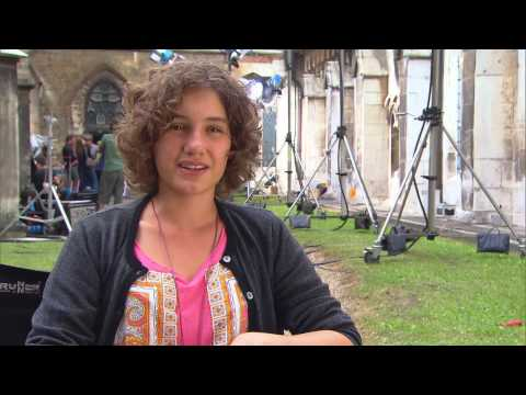 4 FÜNF FREUNDE Valeria Eisenbart (George) über den Film