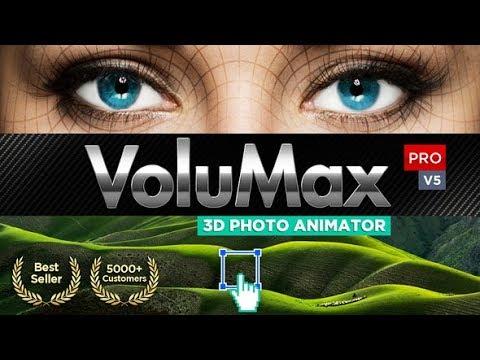 volumax 3d photo animator tool free download