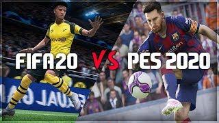 FIFA 20 Vs PES 2020 | Trailer Comparison | HD