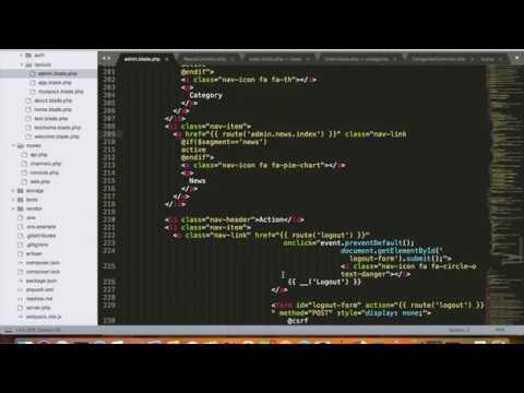 Laravel - Day 11 - URI segment, Modifying Migration and creating Symbolic Link to storage folder