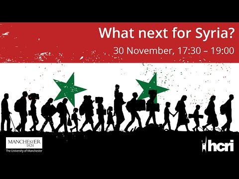 What next for Syria? Civil War and the New Cold War