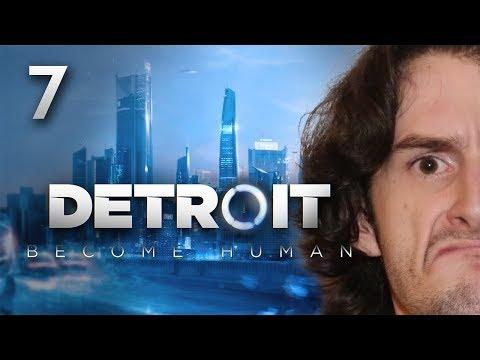 LE GROS NICK !!! -Detroit : Become Human- Ep.7 avec Bob Lennon