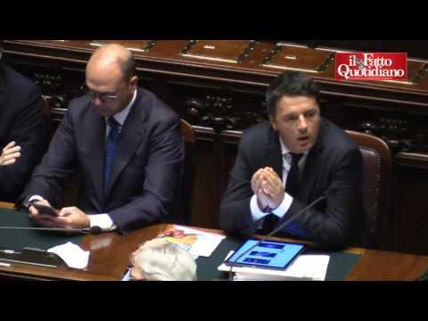 """Terremoto, Renzi alla Polverini """"Questa è pazza"""" ed interviene Brunetta"""