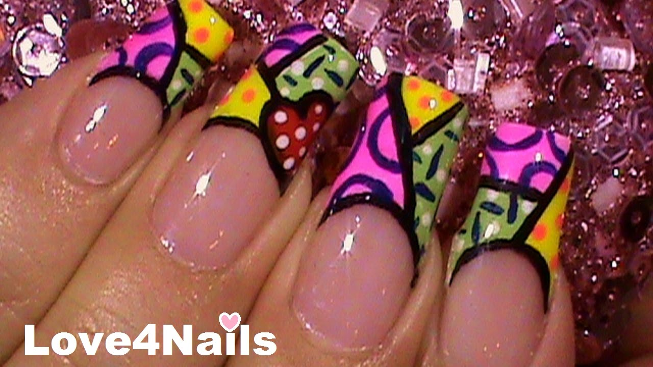 Fancy Free Style Nails Pattern - Nail Polish Ideas ...