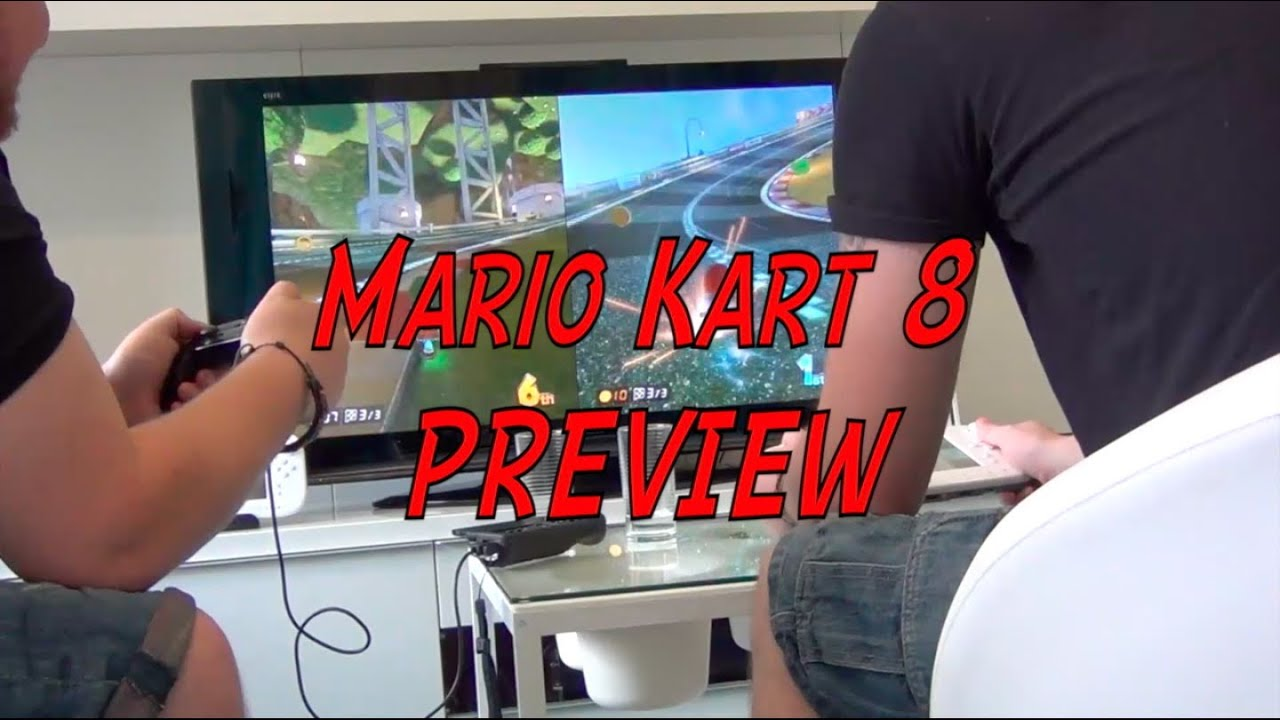 Mario Kart 8 Preview New Footage and items