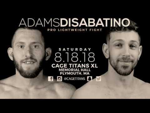 Cage Titans XL: John Adams vs Zach DiSabatino