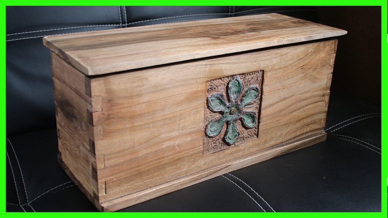 Comment Fabriquer Une Caisse En Bois build a wooden box